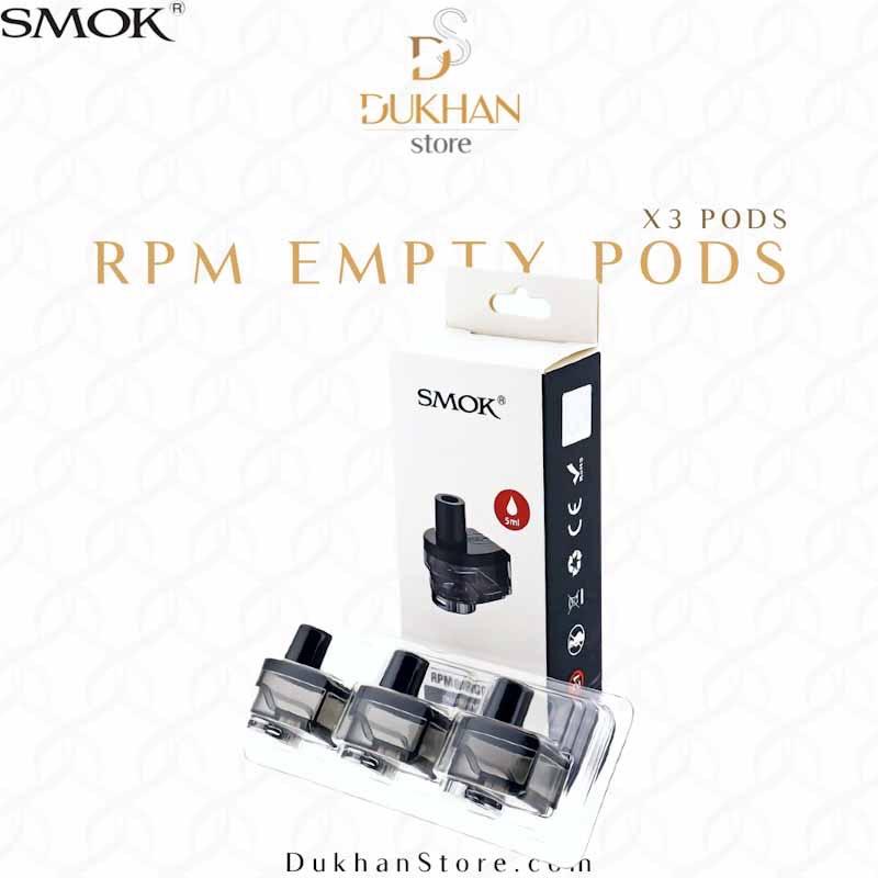 SMOK - RPM80 Empty RPM Pod 5ml (3pcs)