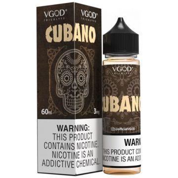 Vgod E-liquid – Cubano (60ml) 3mg