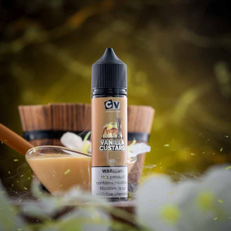 CV - Vanilla Custard (60ML) 3mg