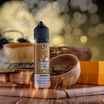 Cv – Vanilla Custard Tobacco (60ml) 3mg