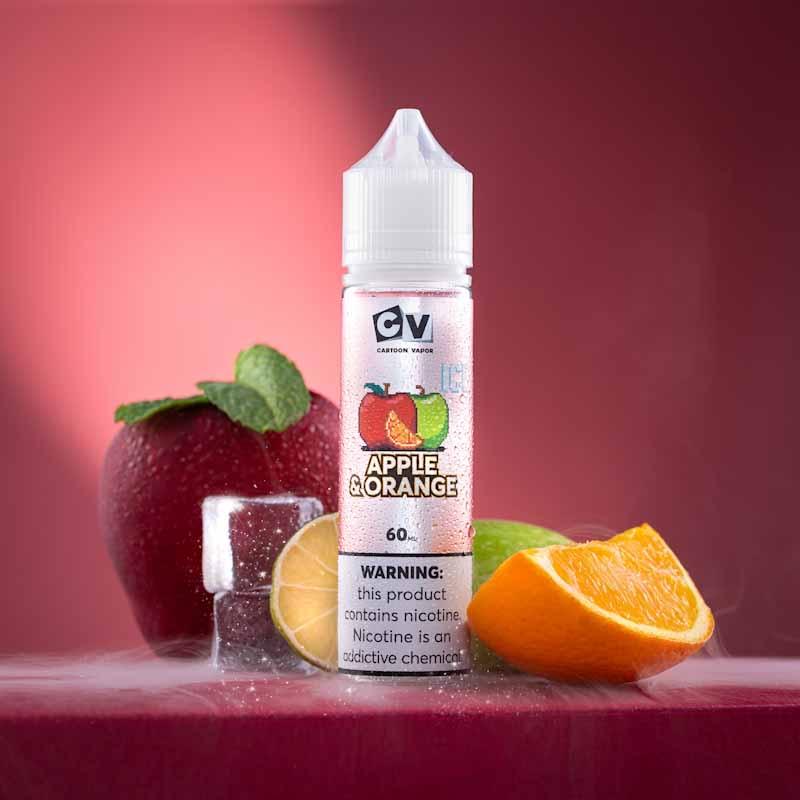 CV -  نكهة كوكتيل التفاح مع البرتقال - 3مج - ICE