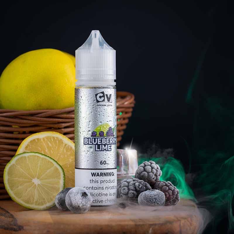 CV - الإصدار الحامض - نكهة البلوبيري مع الليمون - ICE