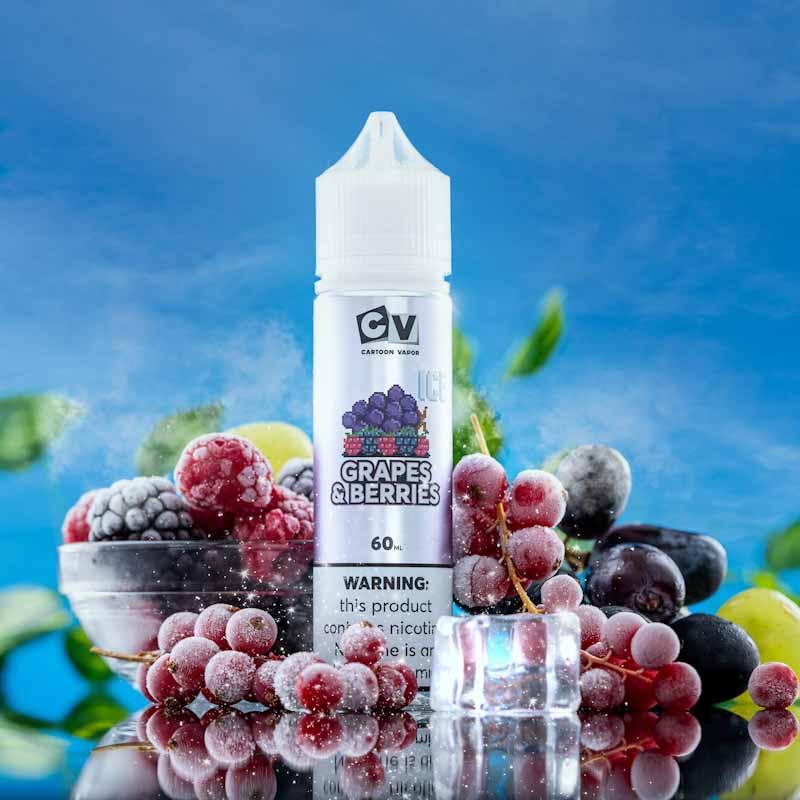 CV - Grape and Berries - ICE (60ML) 3mg