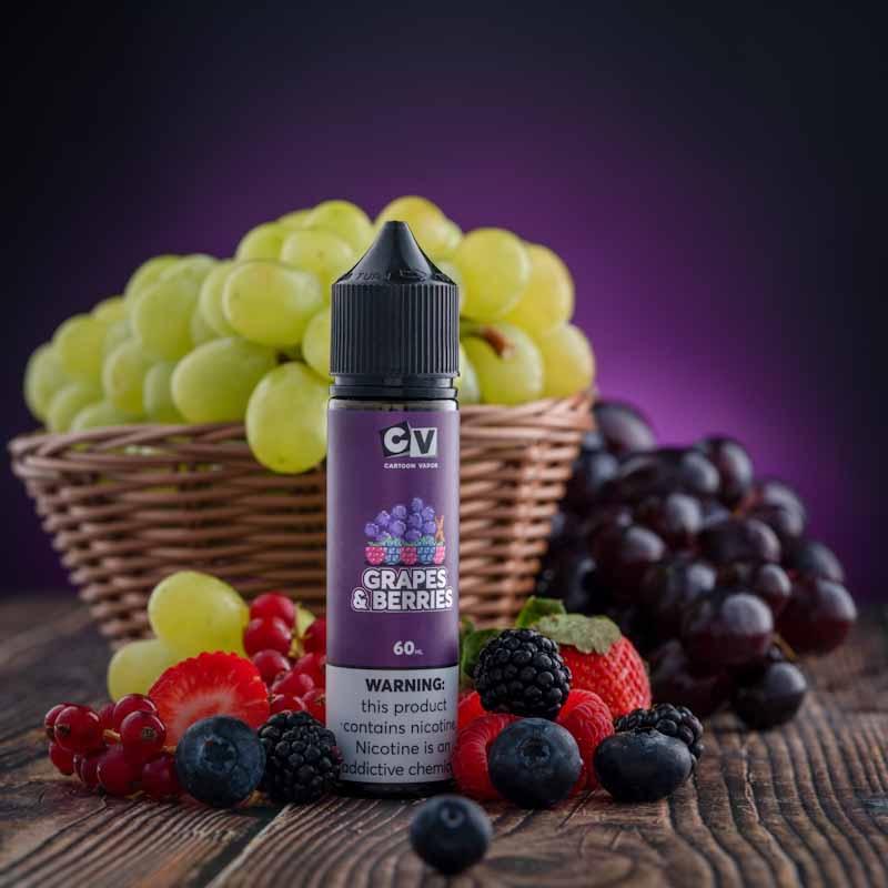 CV - Beetle Juice - Grape & Berries (60ML) 4mg