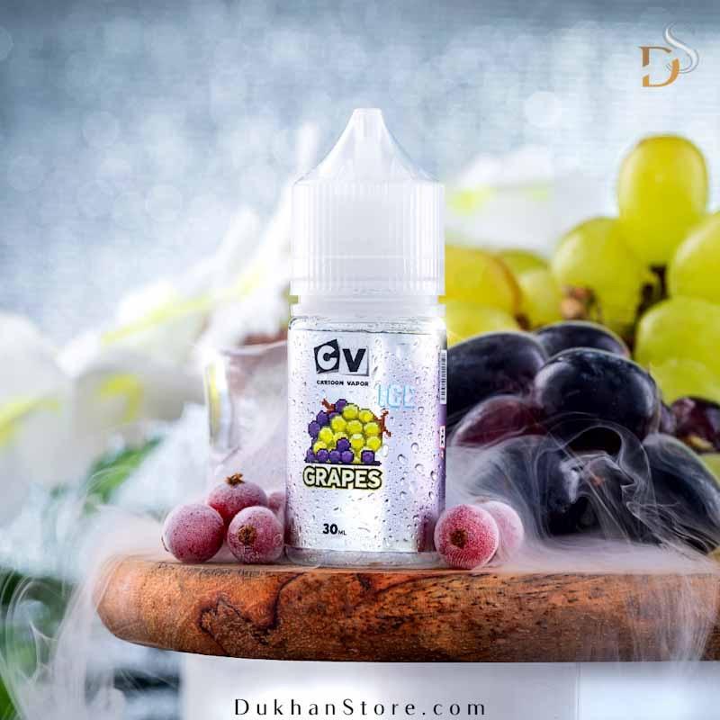 كارتون فيبر-  نكهة العنب البارد (30مل) ٣٠مج