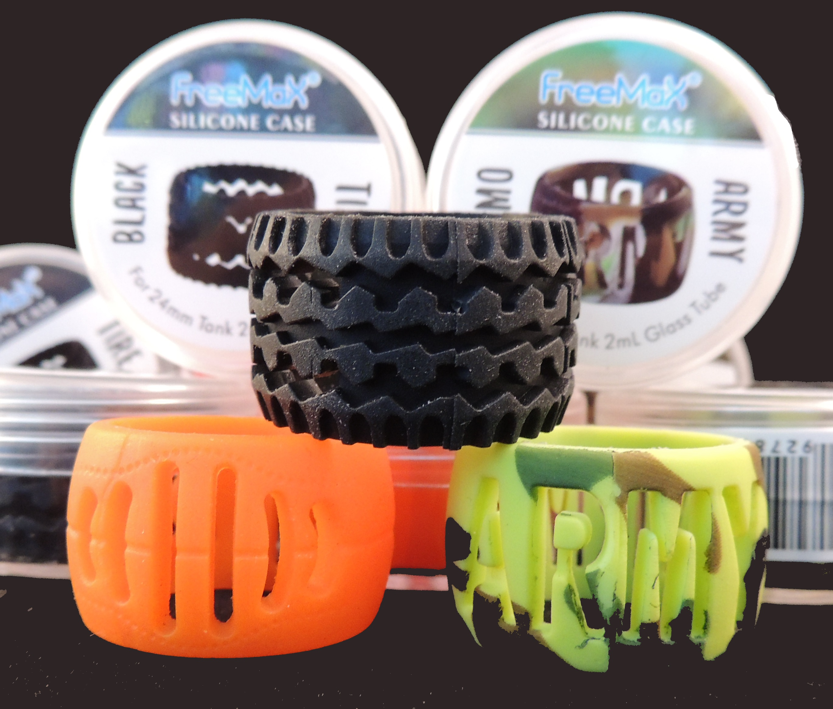 Freemax - Silicone Decorative Ring for 24mm Tank