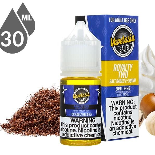 Vapetasia Salts - Royalty II (30ML) 48 mg