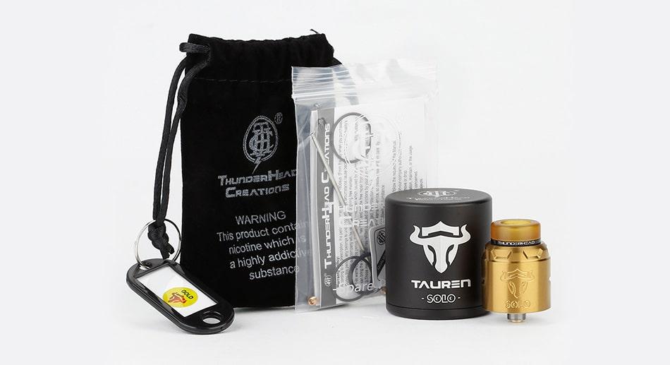 [With Warnings] THC Tauren Solo RDA