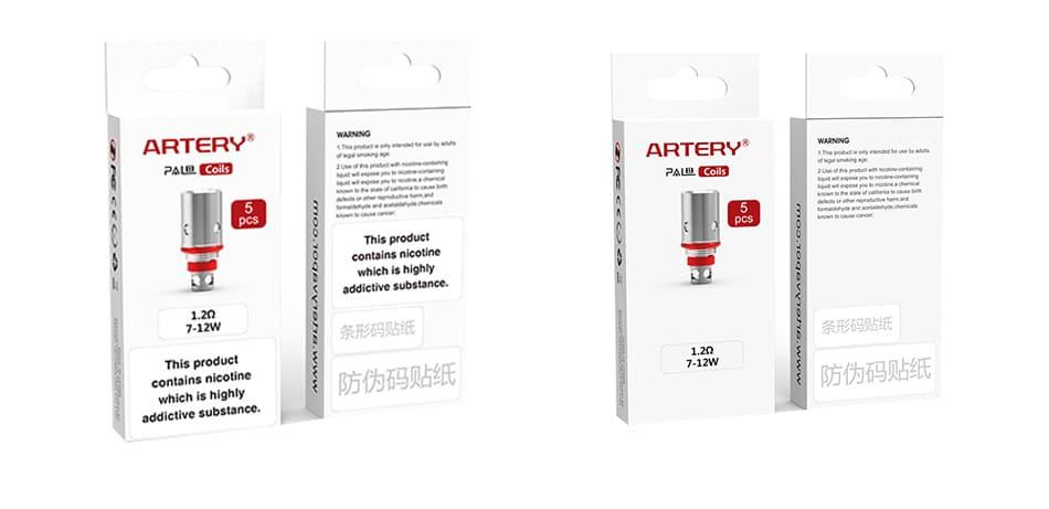 Artery PAL II Coil 5pcs