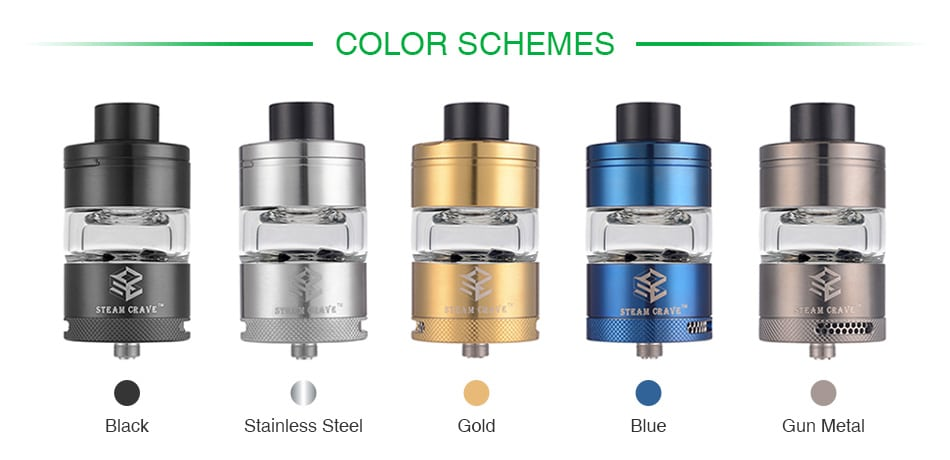 Steam Crave Glaz RTA 7ml