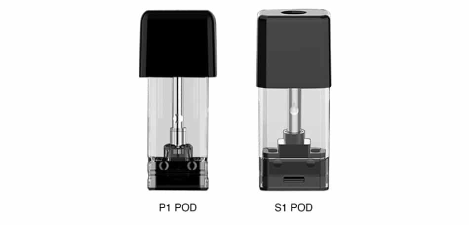 VOOPOO DRAG Nano S1/P1 Pod Cartridge 4pcs/2pcs