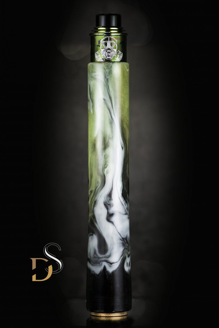 Candy Mods - Stacked Mech Mod 21700 + 2x810 drip tips