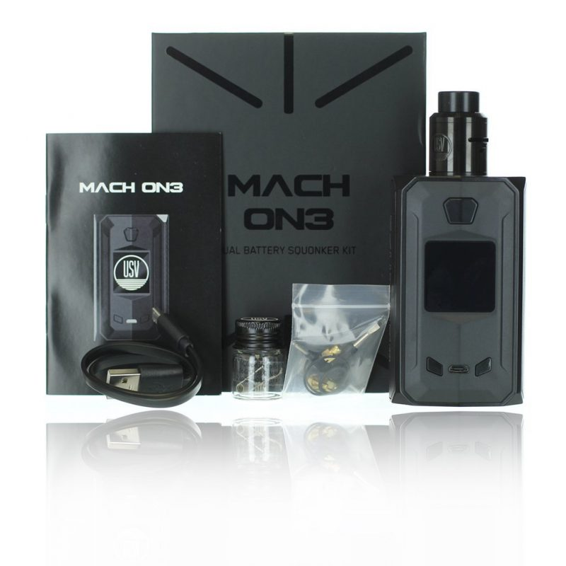 MACH ON3 Squonker - Kit (with RDA)