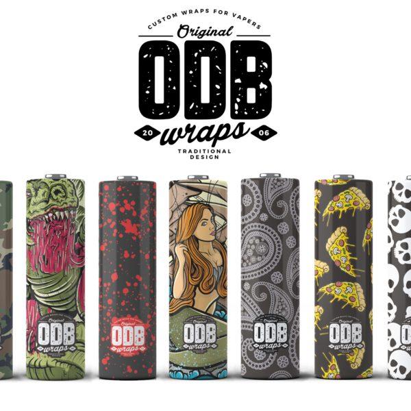 ODB - ODB Wraps 21700 (Pack of 4)
