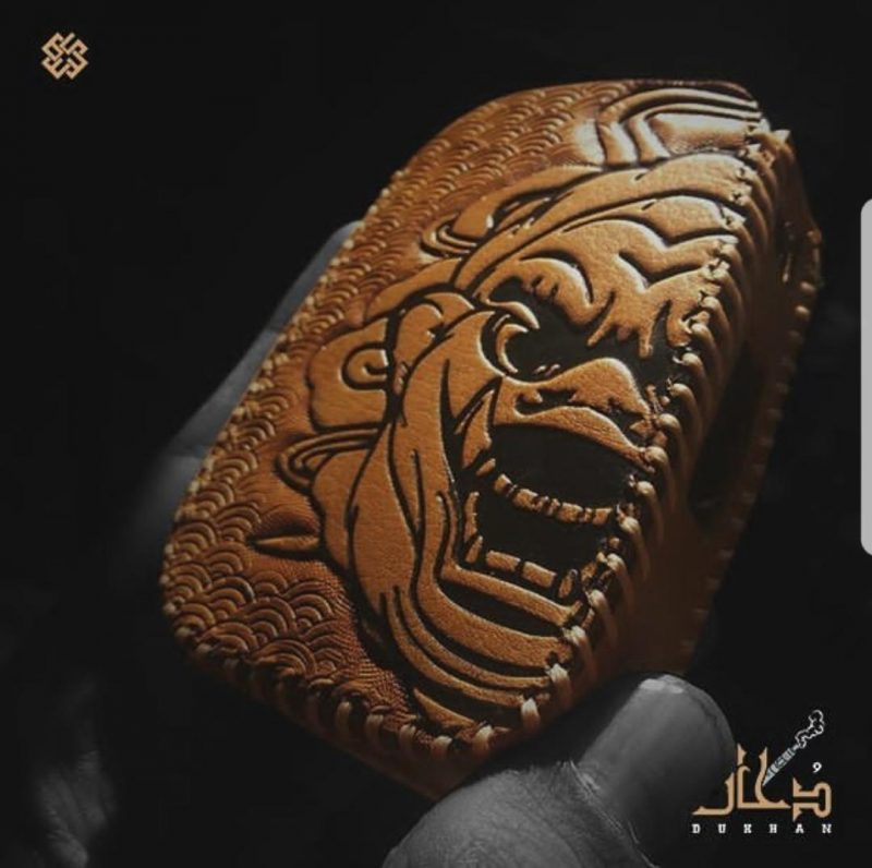 ICON 200, DUKHAN Leather Cover - CK S