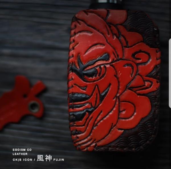دخان ستور- غلاف جلدي طبيعي مخصصة اجهزة سي كي إس