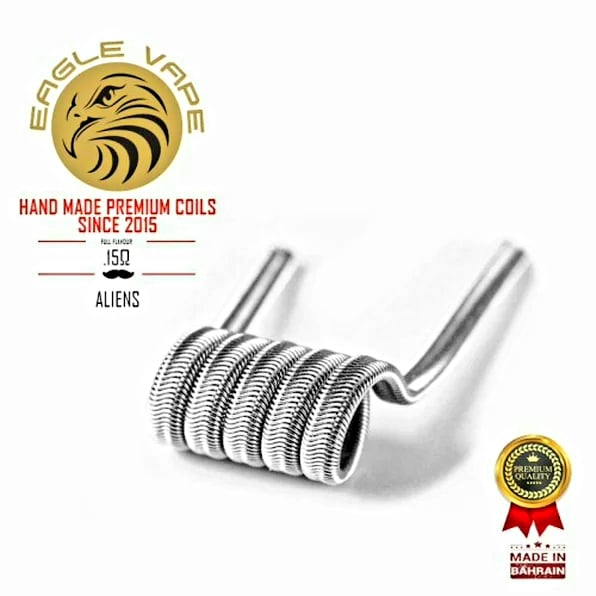 Eagle Vape - Alien Coils 0.15Ω (Pair)