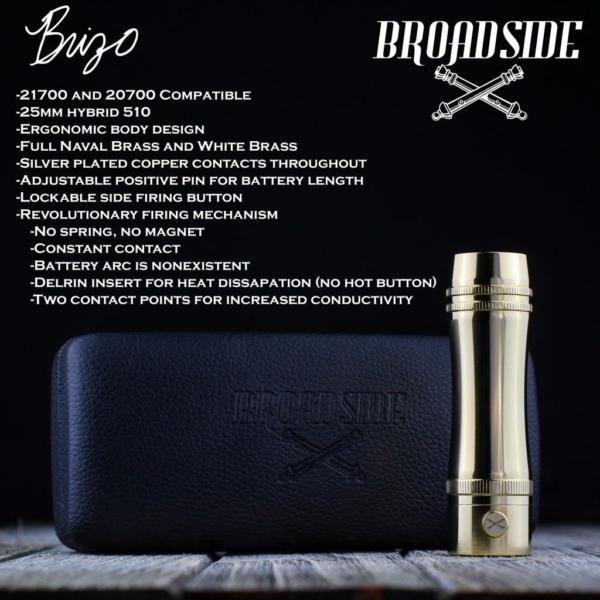 Broadside - Brizo 21700 Mech Mod