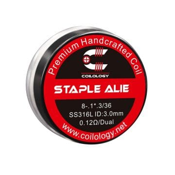 Staple Alien – Ss316l – 0.12ohm