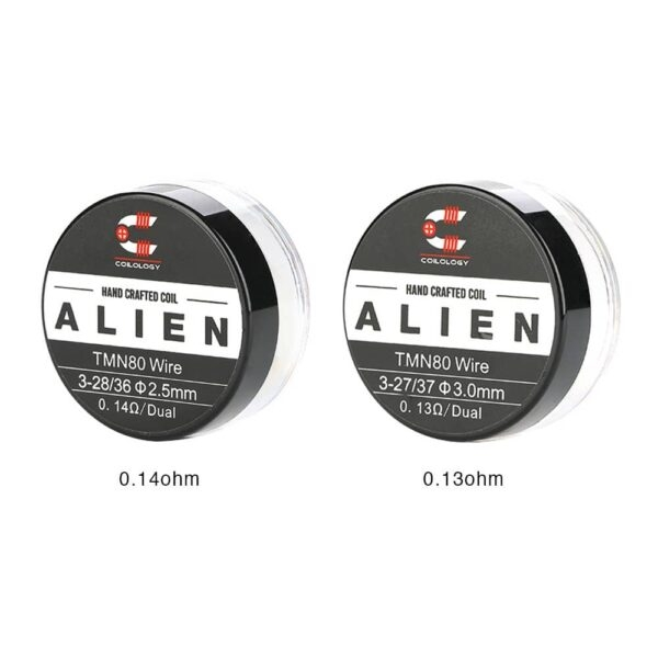Coilology - Twisted Messes Alien Ni80 Coil (2pcs)