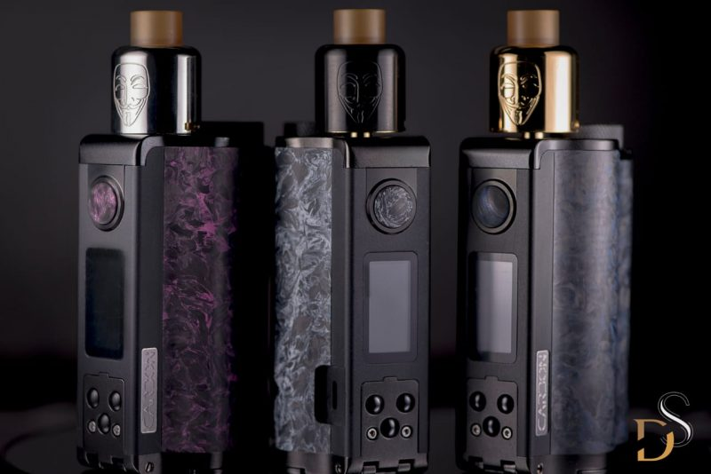 DS Package - Topside Carbon 200W + Mask RDA