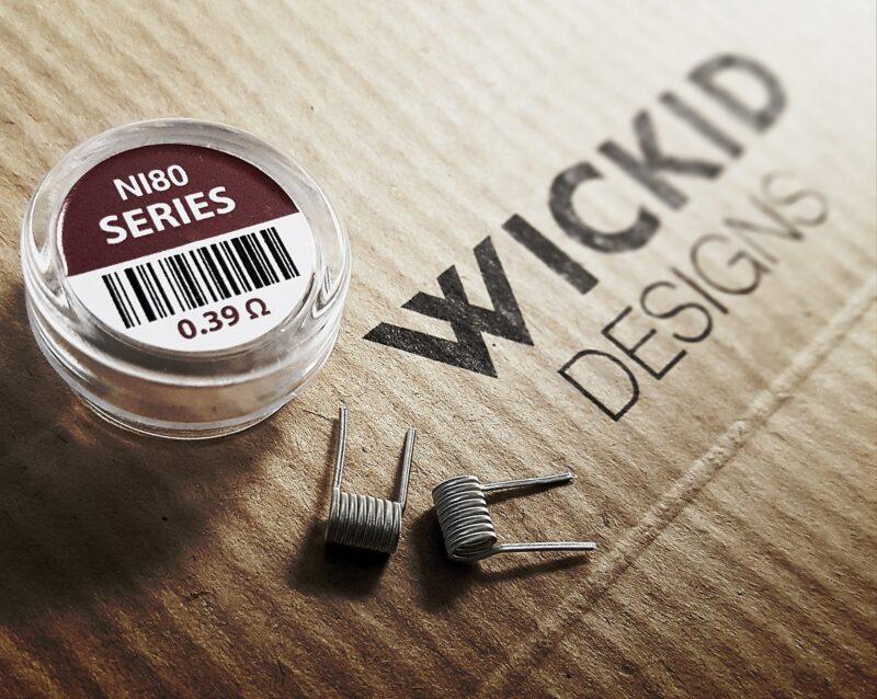 Wickid Coils - Series Alien (0.39 ohm)