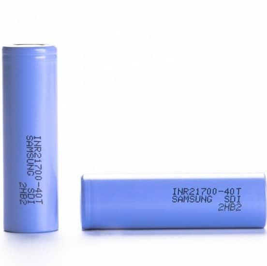 Samsung 40T (21700) 4000mAh 30A Battery