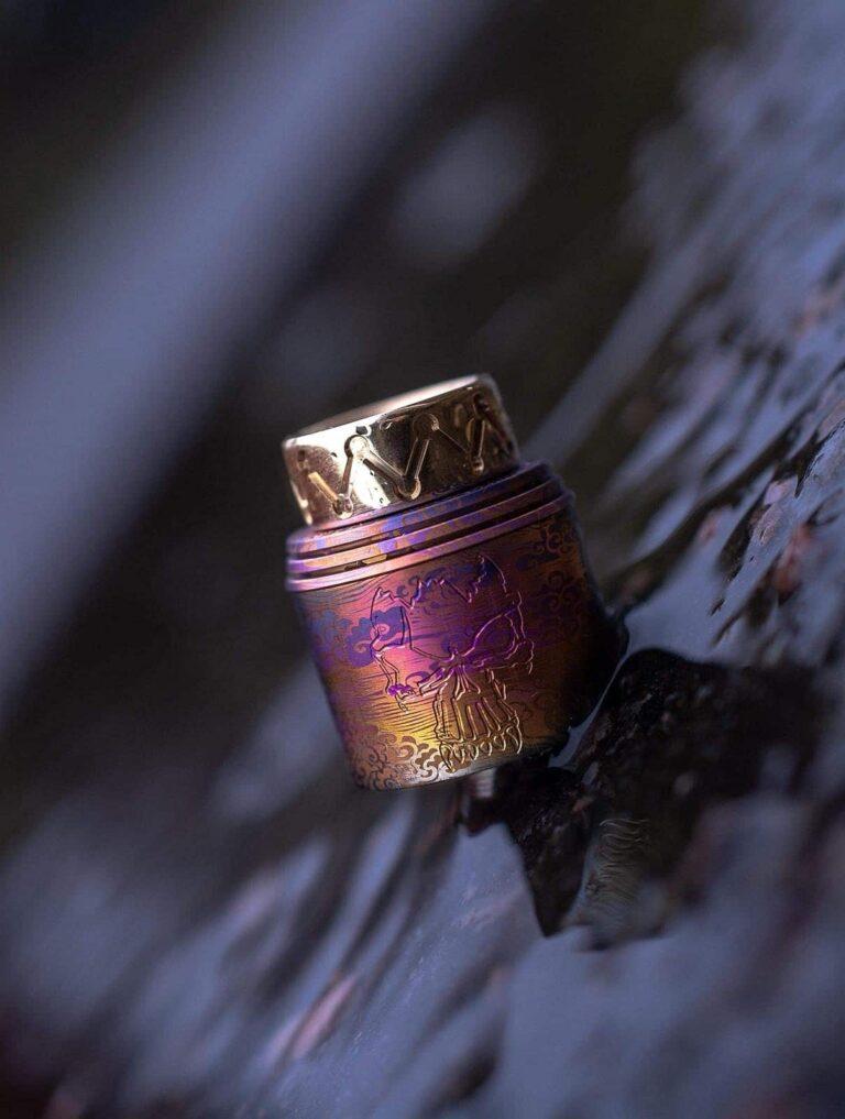 Anodized Titanium Redemption Caps