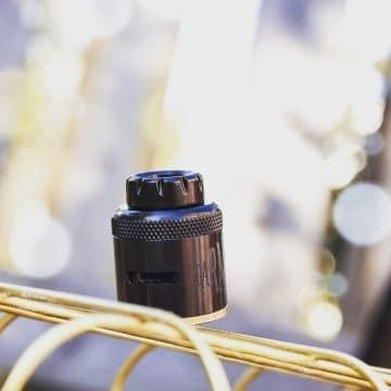 """810 Drip Tip- Matte Black Stainless Steel """"borgen"""""""