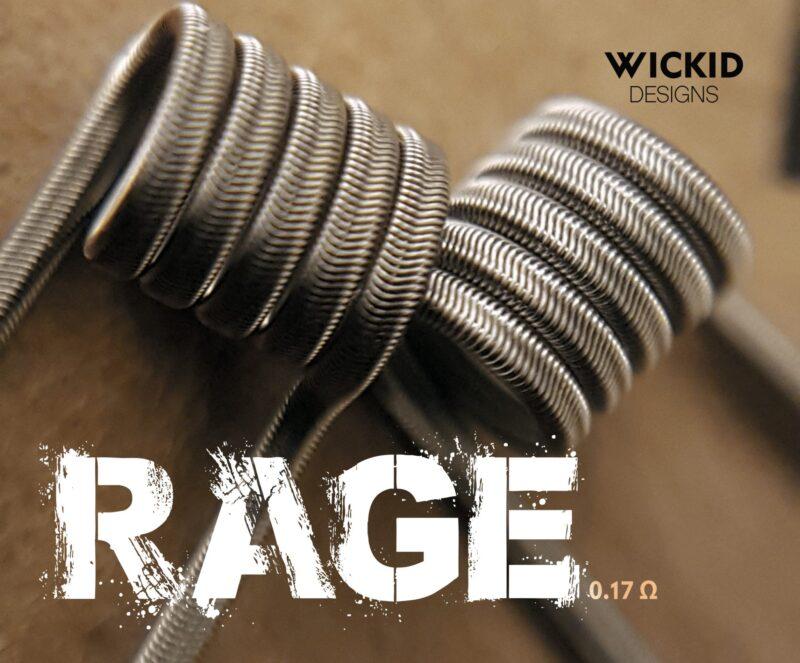 Wickid Coils - RAGE Alien (0.17 ohm)