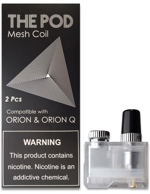 IQS - THE POD REPLACEMENT ORION DNA GO MESH PODS