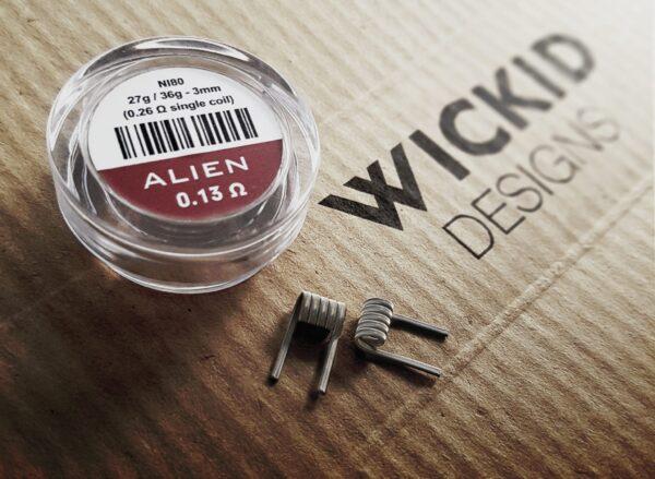 Wickid Alien - 0.13 ohms  (4coils)
