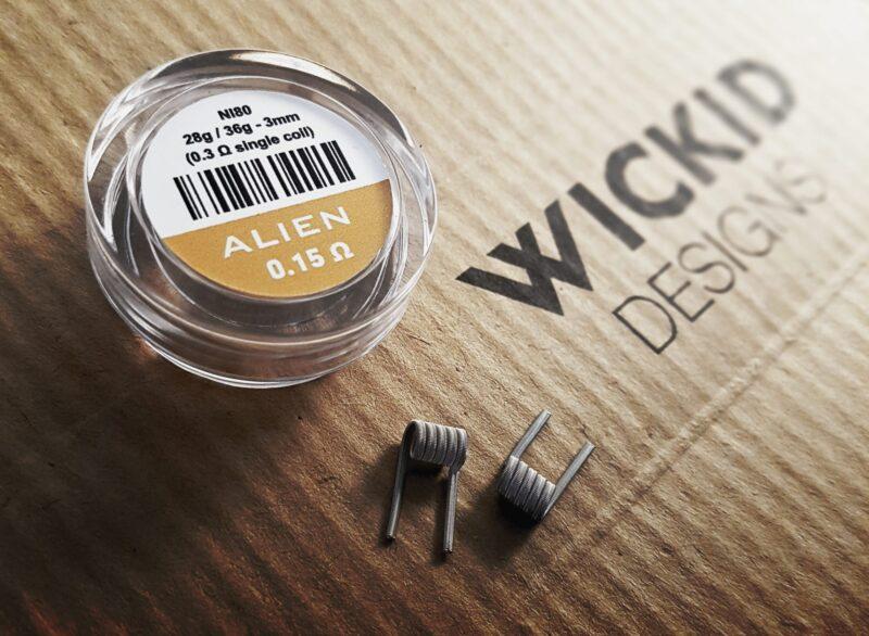 Wickid Alien - 0.15 ohms - 3mm (4coils)