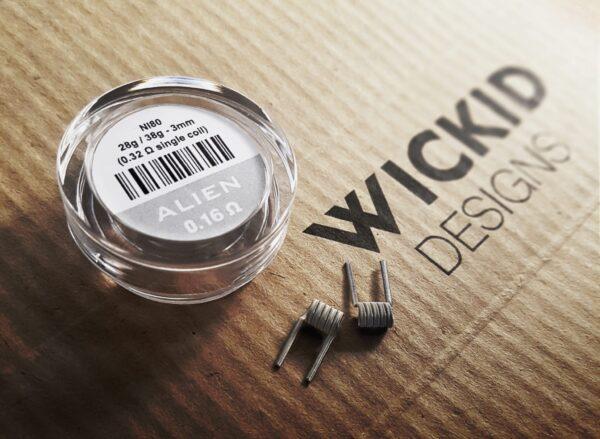 Wickid Alien - 0.16 ohms - 3mm (4coils)