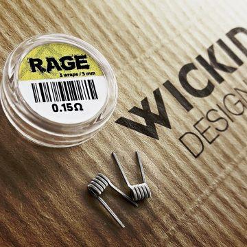 Wickid Coils – Rage Alien 0.15 Ohm