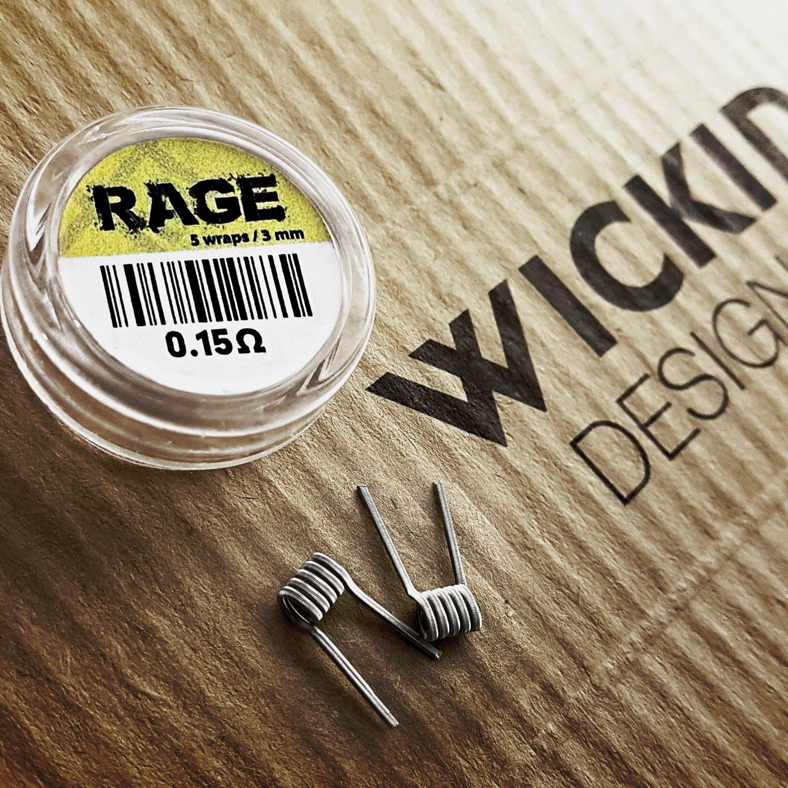 Wickid Coils - RAGE Alien 0.15 ohm
