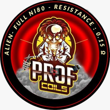 Prof Coils – Three Cores Aliens 0.15 Ohm