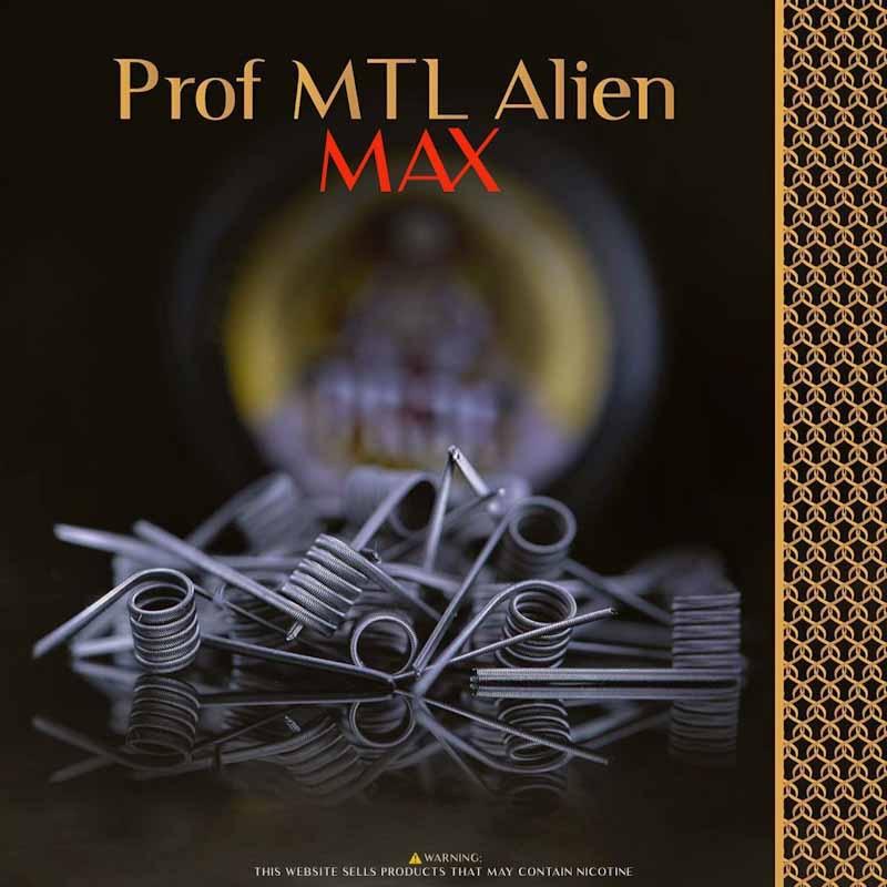 PRof Coils - Dual Cores MTL Aliens(0.8 ohm)
