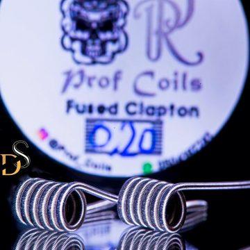 Prof Coils – Fused Clapton  0.20ohm
