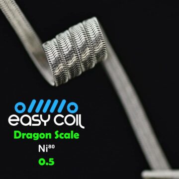 Easy Coil – Dragon Scale Mtl 0.5 Ohm