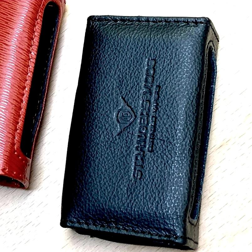 Strangers Mods - Minuta21 Leather Case - (Black)