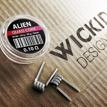 Wickid – Alien 0.1 Ohm Quad Core