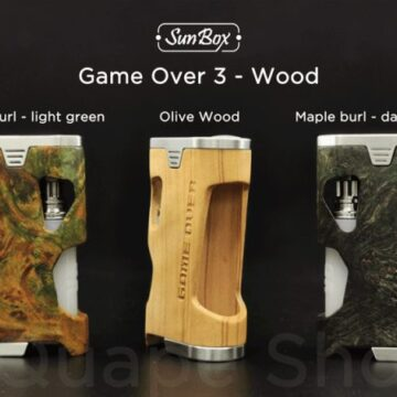 """Sunbox – Game Over 3 """"olive Wood"""""""