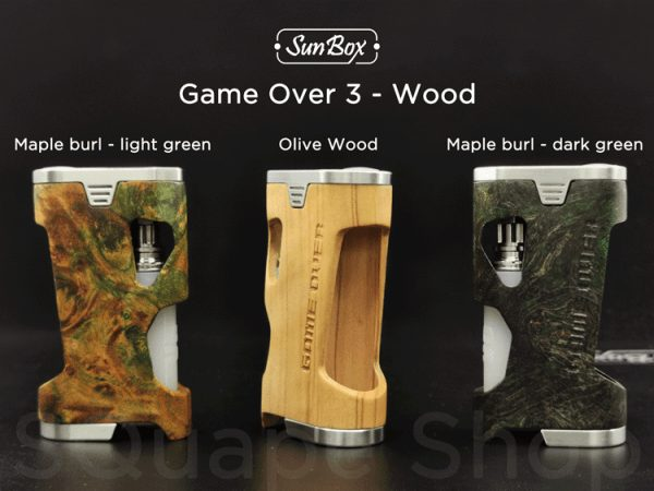 """SunBox - Game Over 3 """"Olive Wood"""""""