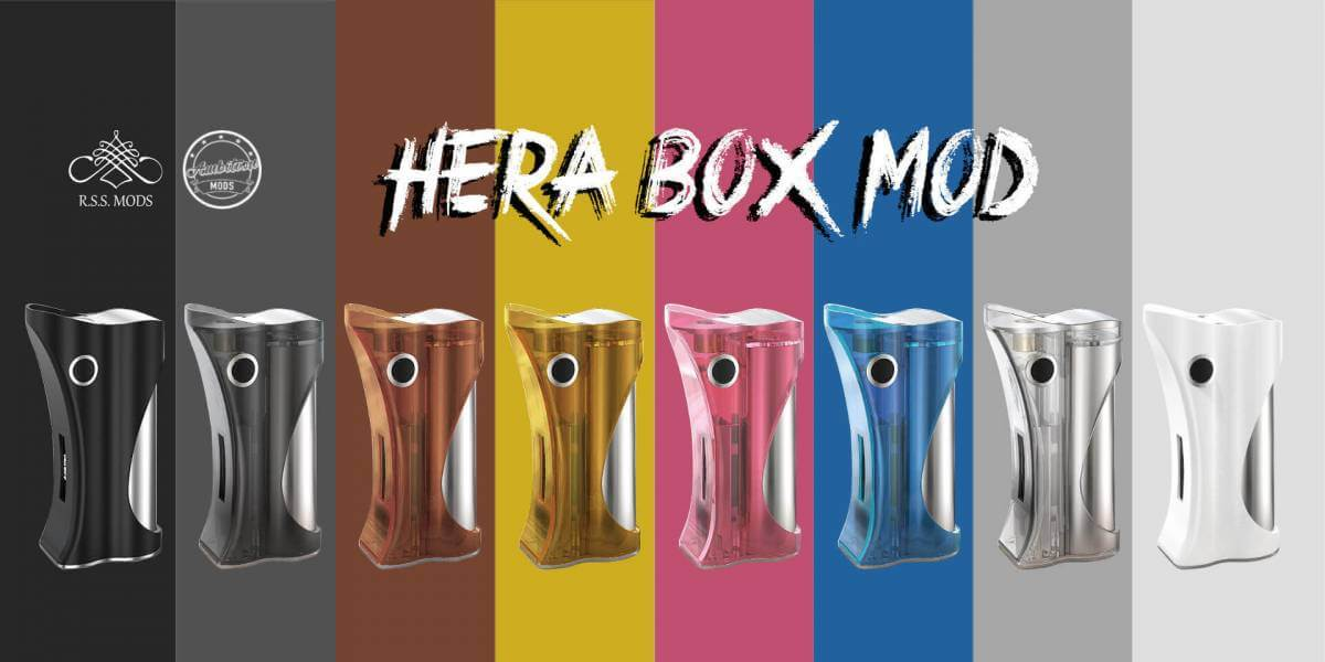 Hera Box Mod 60W - Ambition Mods and R.S.S. Mods