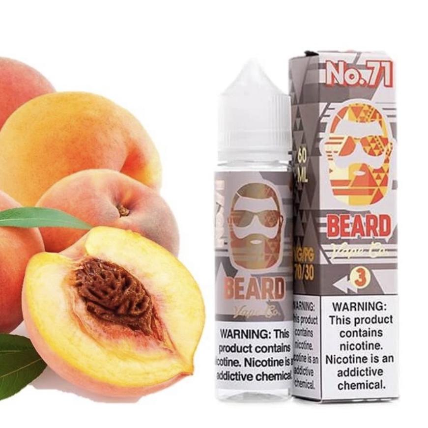 BEARD VAPE Co. - Sweet & Sour Sugar Peach (3mg) 60ML