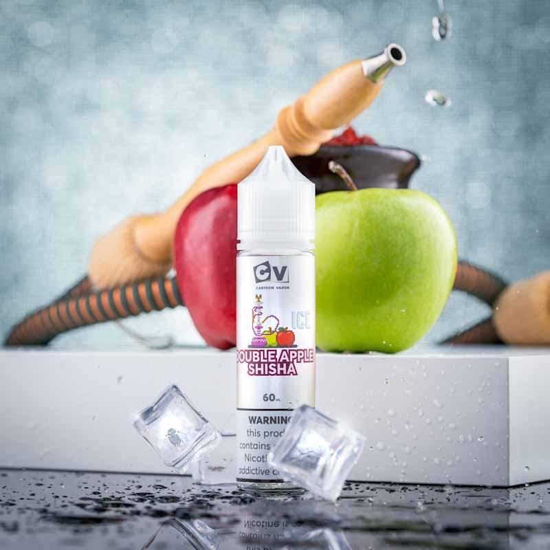 CV - Double Apple Shisha ICE (60ML) 3mg
