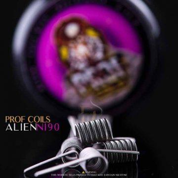 Prof Coils – Ni90 Alien0.16 Ohm