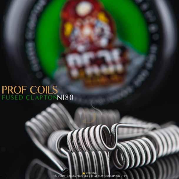 PRof Coils - Fused Clapton  0.17ohm