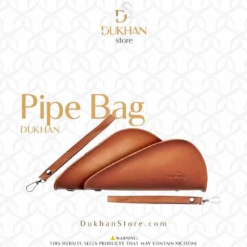 Leather Pipe Storage Bag